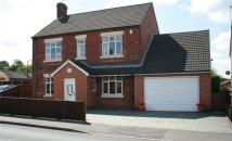 4 bedroom Detached home in Nottingham Road, Selston...