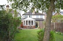 2 bedroom semi detached home for sale in New Road, Chilworth...