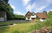 Detached home in Hascombe Road, Godalming...