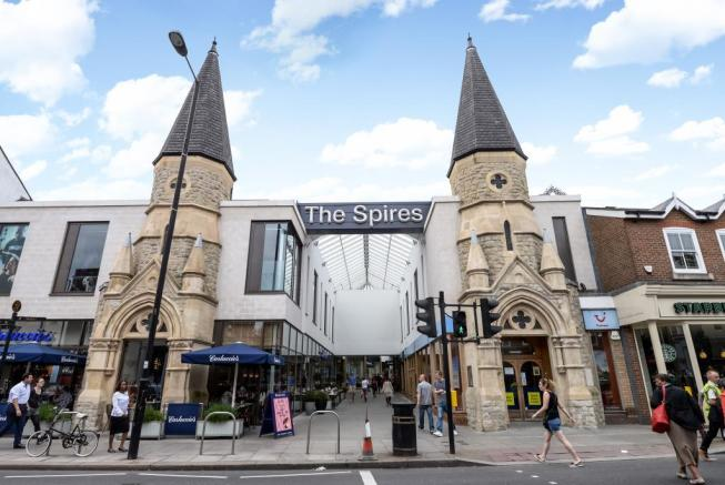 The Spires Shopping Centre