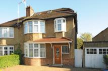 4 bedroom semi detached property to rent in NETHERLANDS ROAD, BARNET...