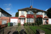 semi detached home in Wykeham Hill, WEMBLEY...