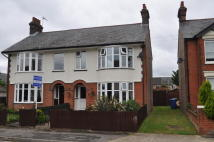 semi detached house in Norman Crescent, Ipswich...