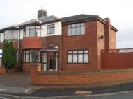 semi detached property to rent in York Road, Maghull