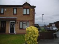 semi detached home in Witham Close, Netherton