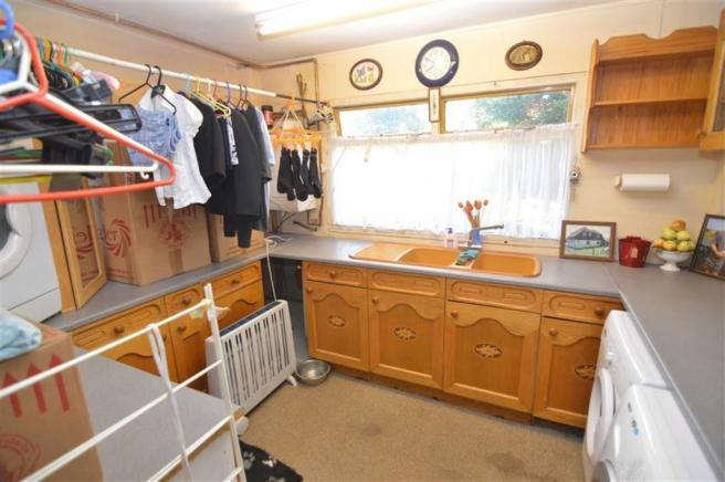 Garage and  Utility room