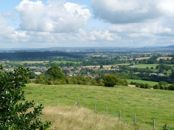 Okeford Hill View