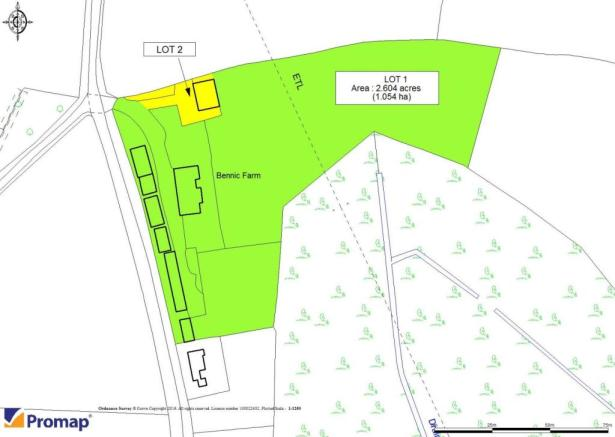 Land Plan In Lots