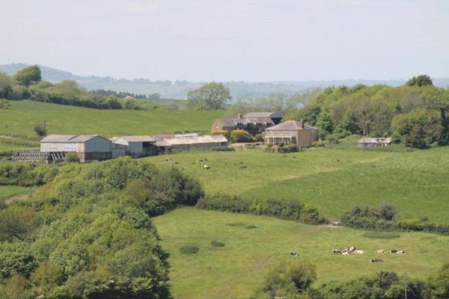 Distant View Of Farm