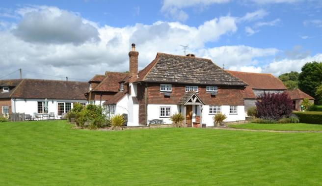 Farmhouse front