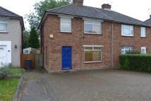 semi detached house in Fairmead Crescent...