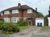 semi detached home in Francklyn Gardens...
