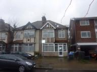 Talbot Road semi detached property to rent