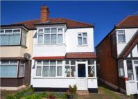 3 bed semi detached property to rent in Paxford Road, Wembley...