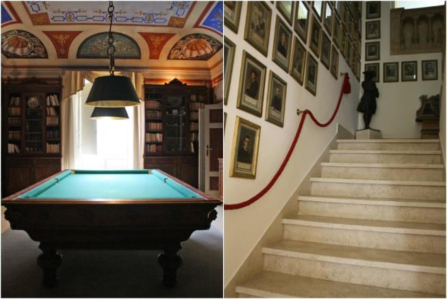 Pool table &stairs