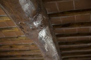 Italian wooden beams