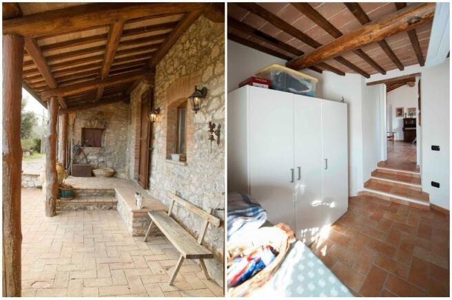 Porch&laundry room