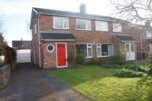3 bed semi detached property in Trinity cresent...