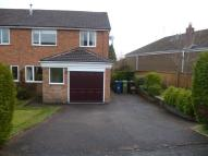 3 bed semi detached home in Trinity Road, Eccleshall