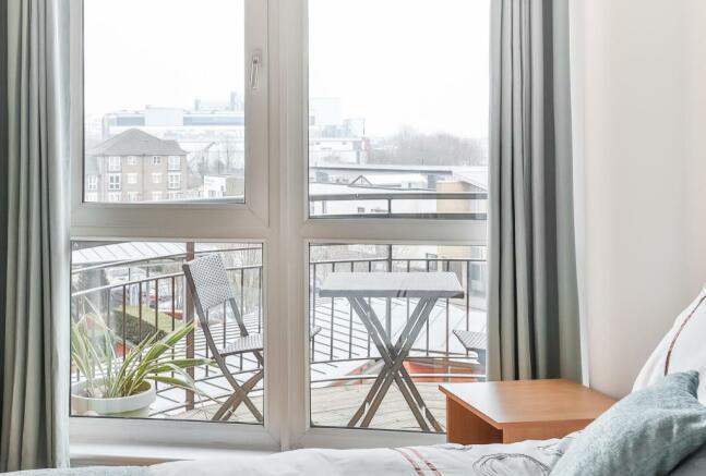 Master Bed Balcony