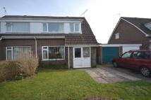 semi detached home for sale in Barrow Close, Dorchester...