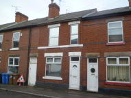 Terraced home in Peet Street, Derby...