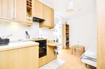 Studio flat in Fairholme Road, London...