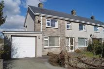semi detached home for sale in Manor Avenue, Pwllheli...
