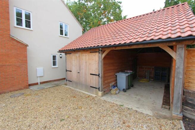 Oak Framed Garage &