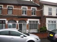 Terraced house in Upper Sheridan Road...