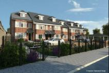 Terraced house for sale in Plot 3 Sandhurst Court...