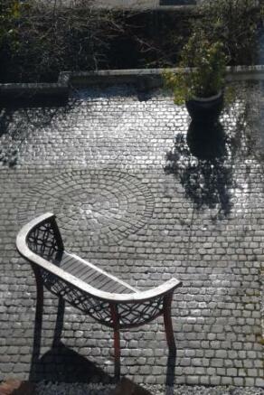 cobbled garden