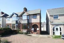 3 bed semi detached home in Ffriddoedd Road, Bangor