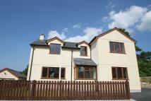 new house in Llanllechid, Gwynedd