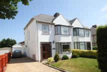 semi detached property in Belmont Road, Bangor
