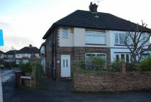 3 bedroom semi detached property in Manchester Road...