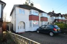 Ruislip semi detached house to rent