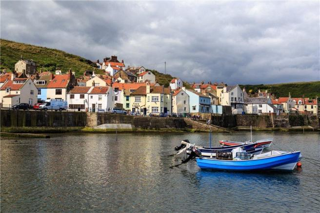 Nearby Staithes