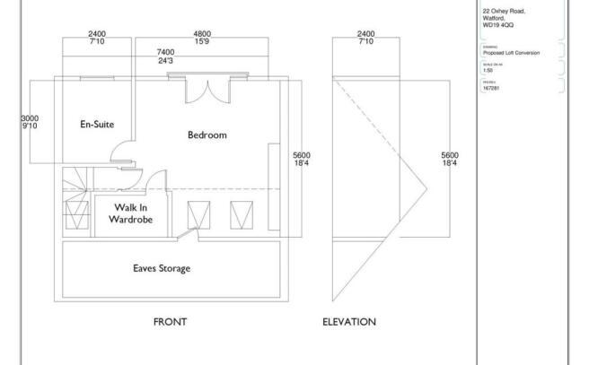 Proposed Loft Plan
