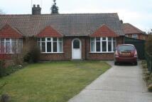 Alvis Grove Semi-Detached Bungalow to rent