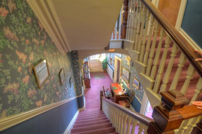 View of the Entrance Hall