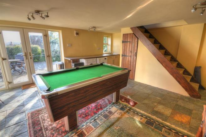 Outbuilding/Games Room