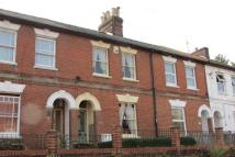 Terraced property in Flaxfield Road...