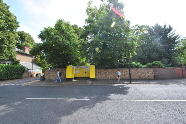 Site frontage to ...
