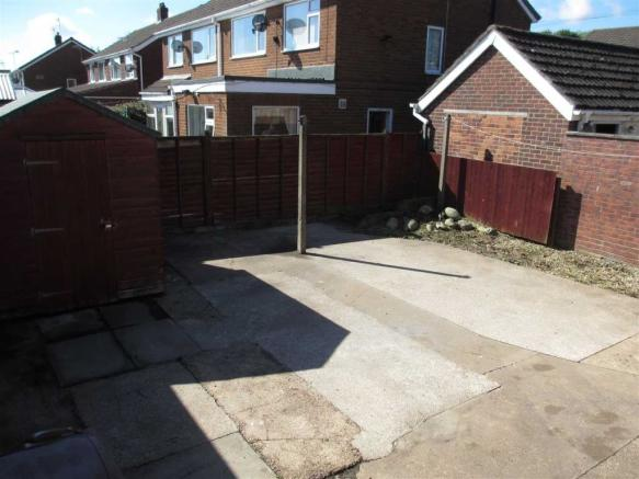 Rear of Property -