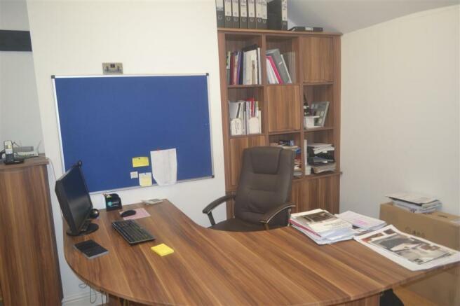 Rear Office Area