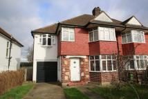 semi detached home in Beverley Way, London...