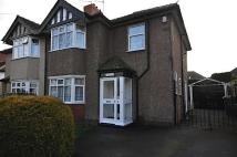 WOLLASTON semi detached property to rent