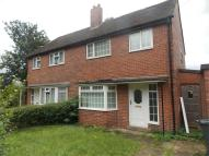 semi detached home in Moorcroft Drive...
