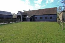 Barn in Redhall Lane to rent